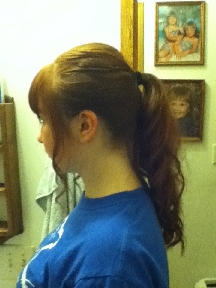 My hair:)