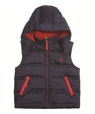 aa6d3b8eea09 Take a look at this Navy Gilet Puffer Vest - Infant