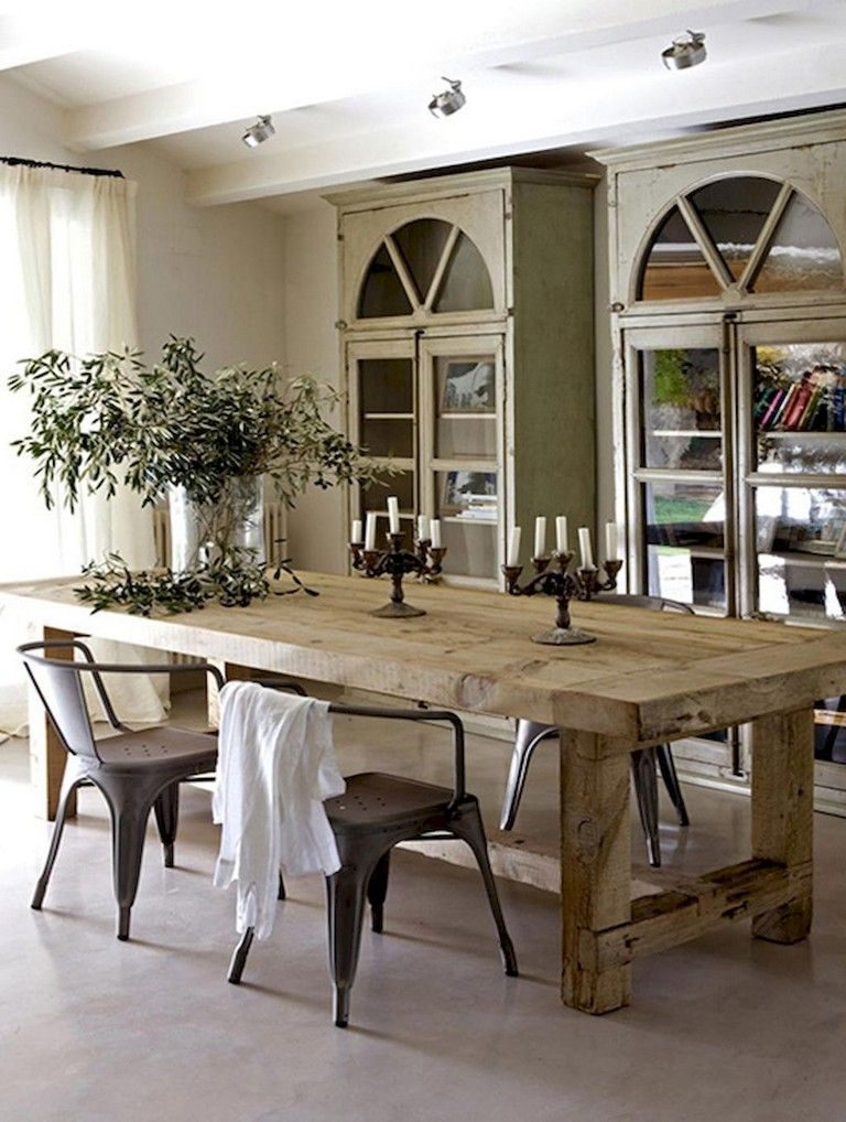 54 Modern French Country Dining Room Furnitrue Decor Ideas