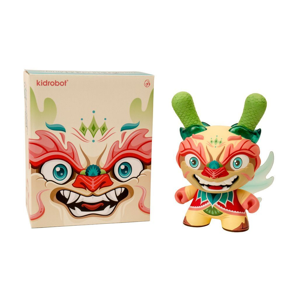 """""""The Lotus""""by Scott Tolleson 2013 Kidrobot Dunny Evolved Series"""