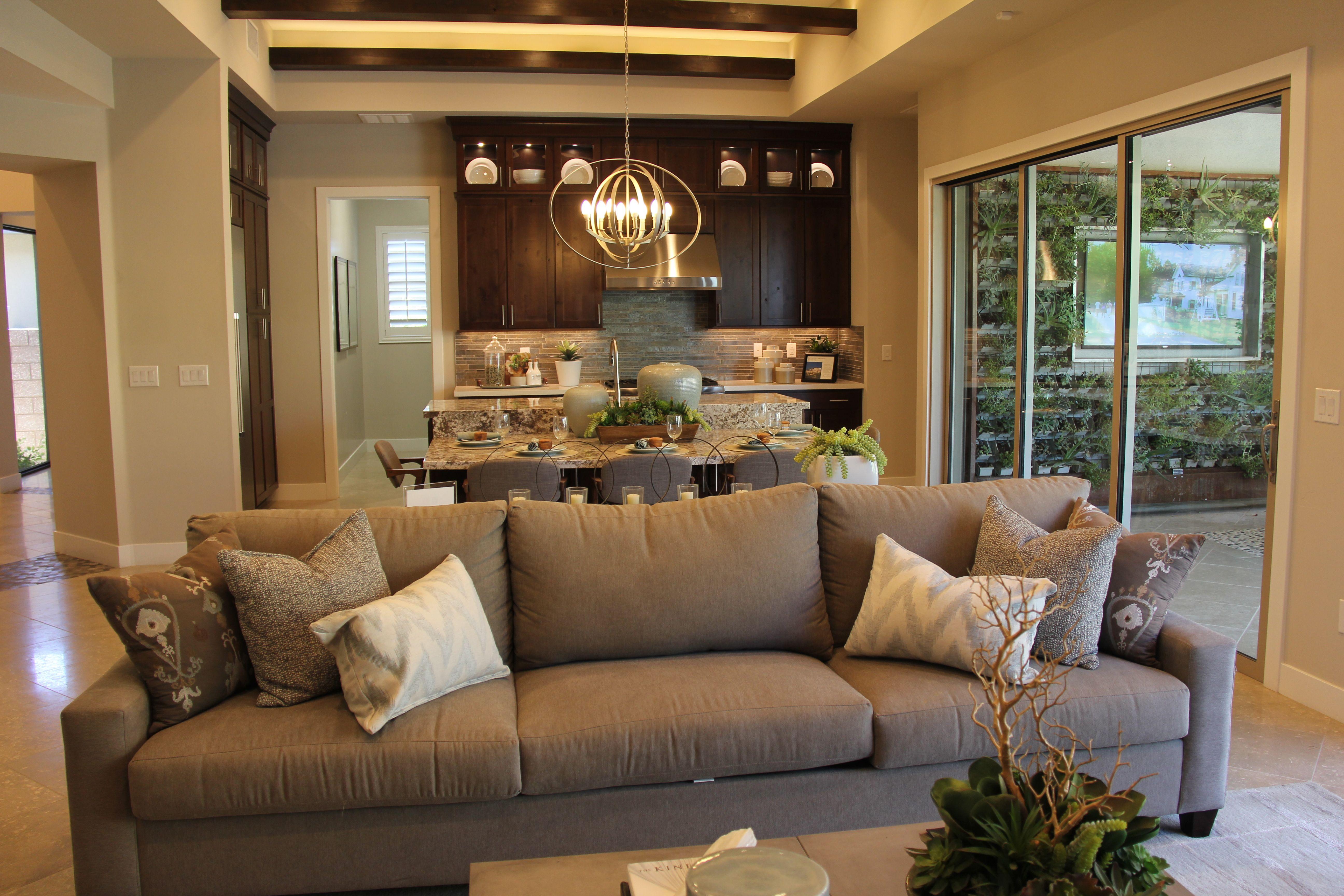 Gilmore model, living room | 55+ active adult communities ...