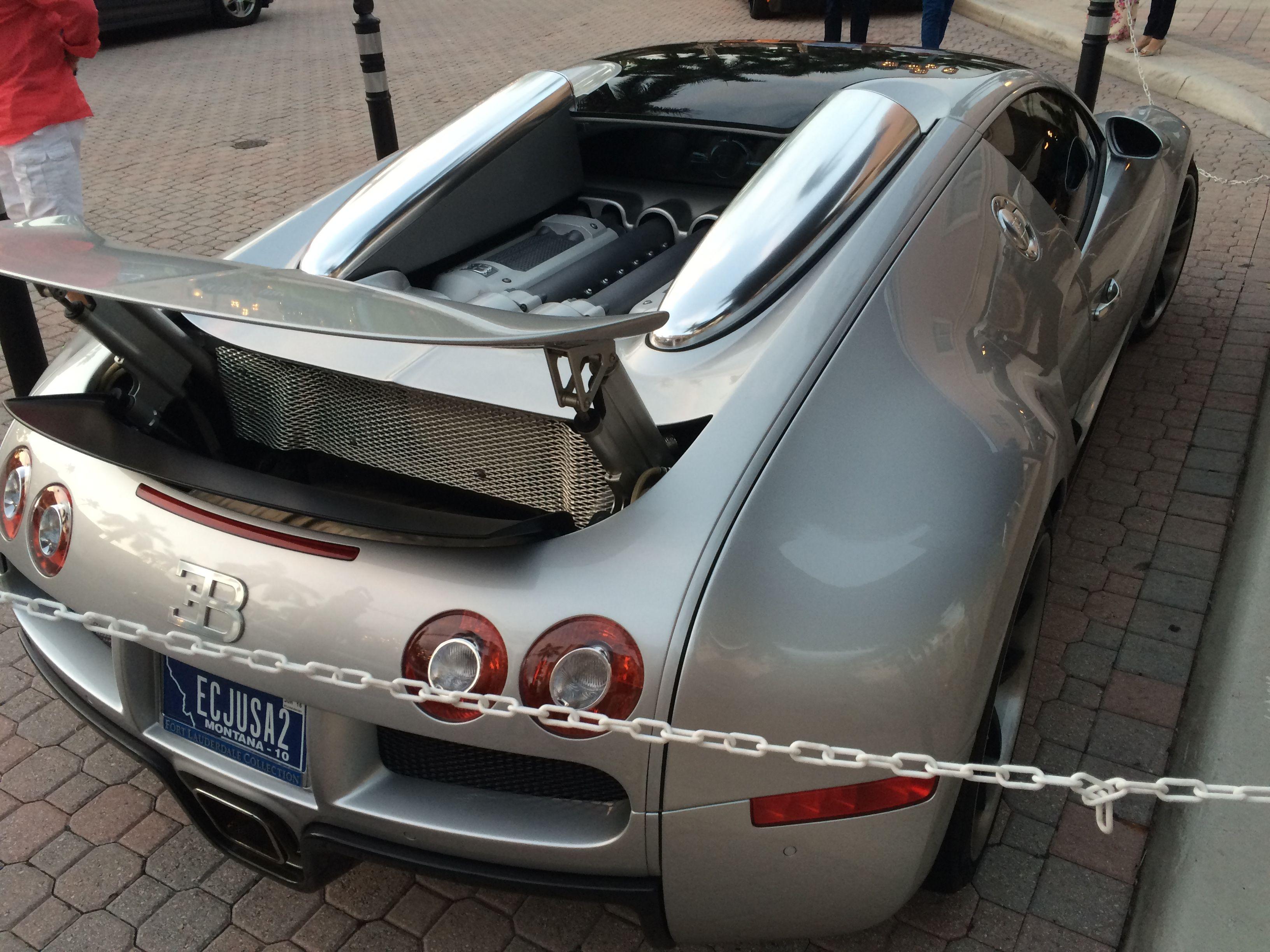 Bugatti Veyron. Mizner Park In Boca Raton, FL