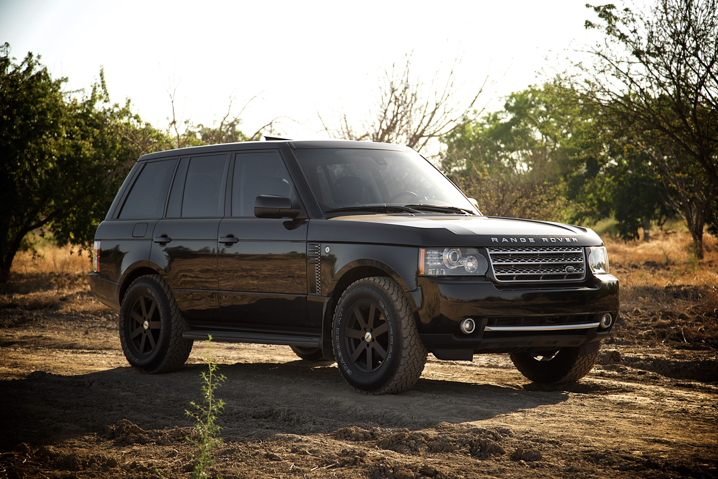 Range Rover Lifted >> 2010 L322 Facelift Full Size Range Rover Hse 2 Lift On 33 Tires