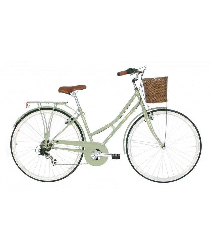 Buy Kingston Hampton 19 Inch Frame Hybrid Bike Sage Ladies At