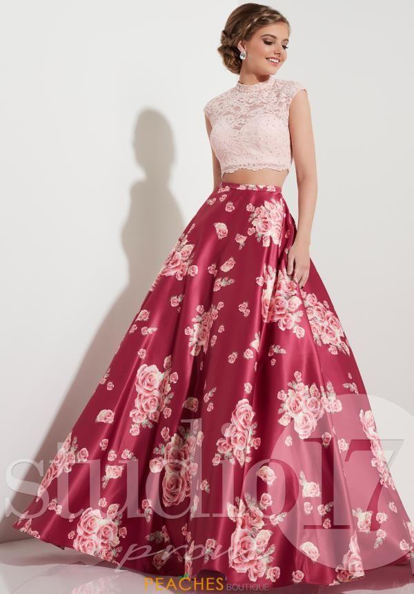 Floral A Line Studio 17 Dress 12603 | roupas | Pinterest ...