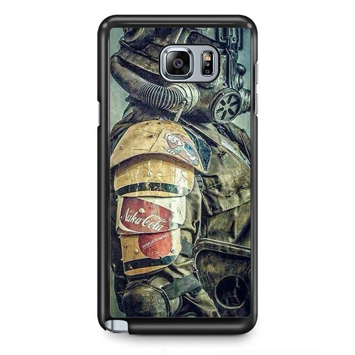 Fallout 4 Robot 2 TATUM-4082 Samsung Phonecase Cover Samsung Galaxy Note 2 Note 3 Note 4 Note 5 Note Edge