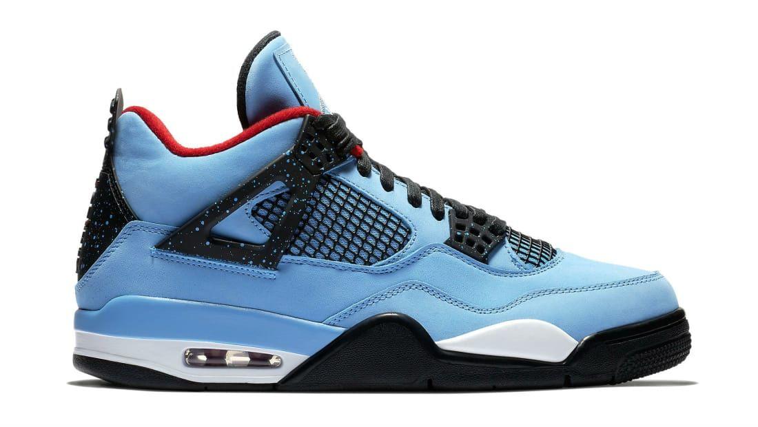 brand new c6e26 9a886 Air Jordan 4 Retro 308497 406 Cactus Jack
