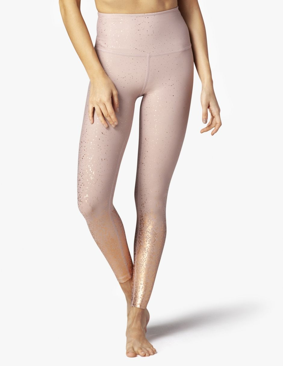 0bb09b57b1 Alloy Ombre High Waisted Midi Legging | Work it out | Yoga capris ...