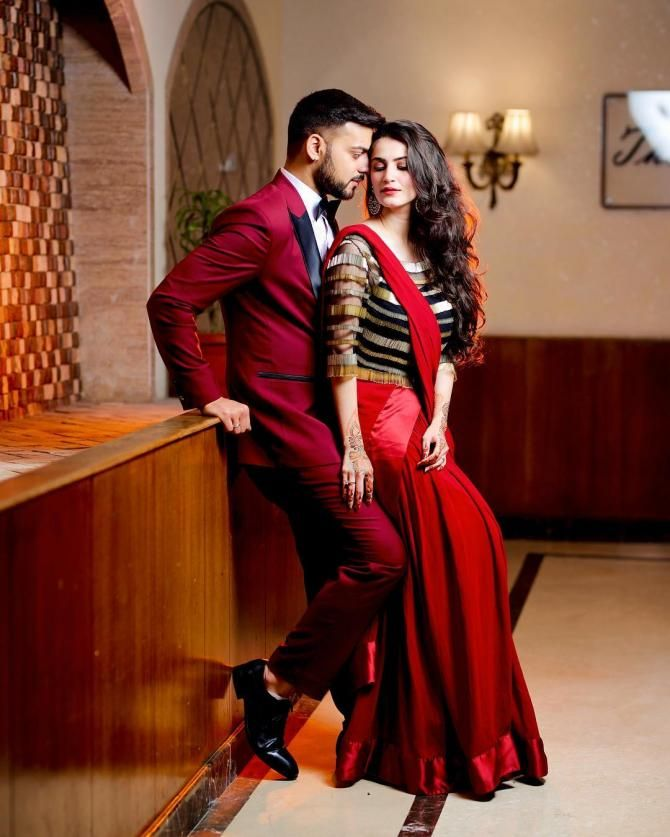 'Bhabhi' Shivaleeka And 'Nanad' Param's Latest Boomerang Video Tells How Cute And Crazy They Are! is part of Wedding couples photography - Karam Rajpal Sister, Param Rajpal recently got married  Seeing 'bhabhi nanad' jodi, Param and Shivaleeka is just amazing  Check out the video and photos which will inspire you with such relations