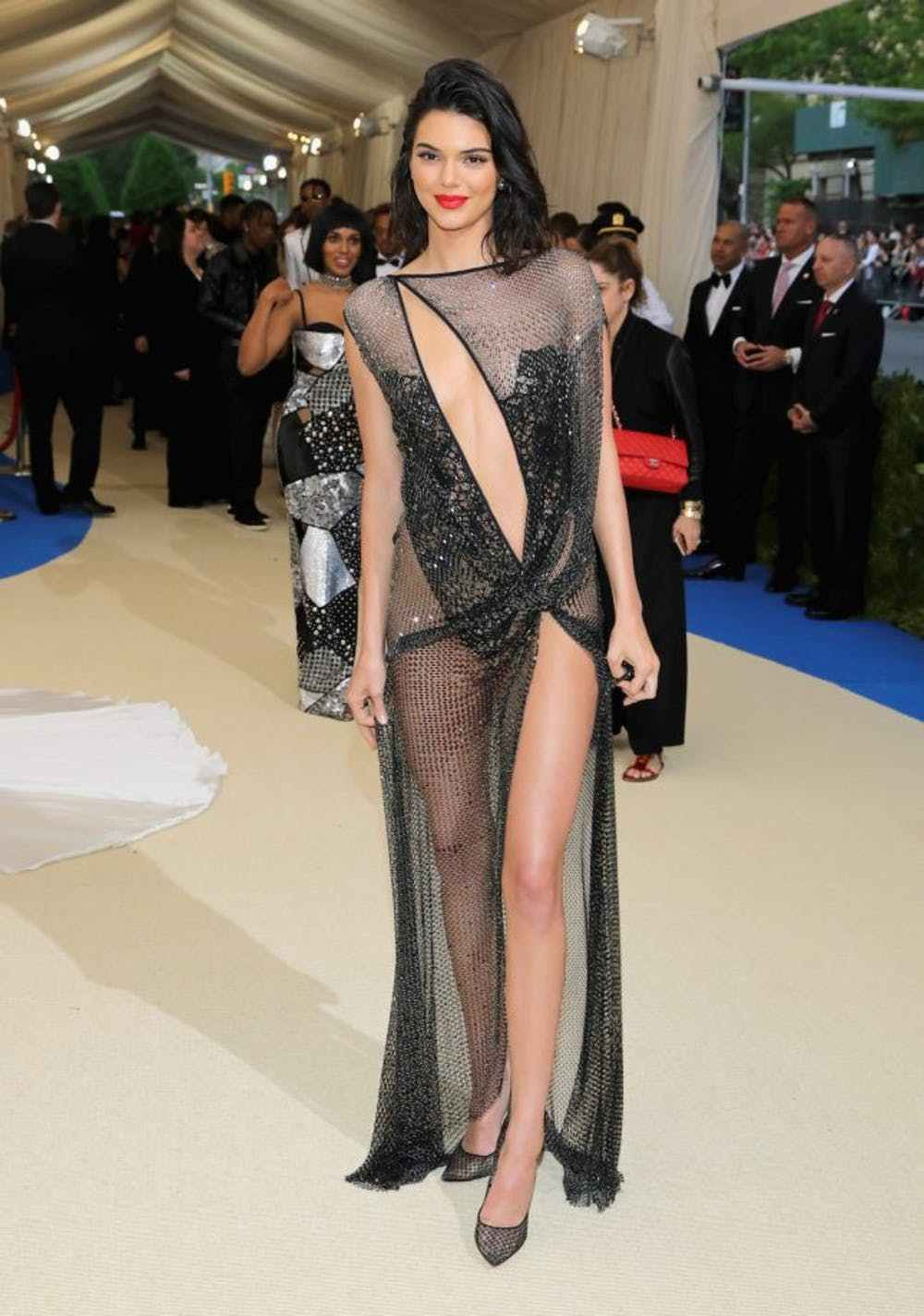 The most revealing red carpet dressing that will shock you