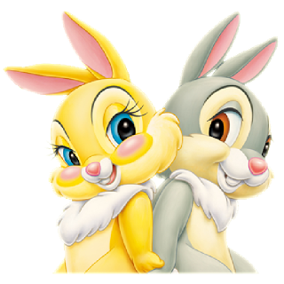 Cute Bunny Rabbit's - Easter Images