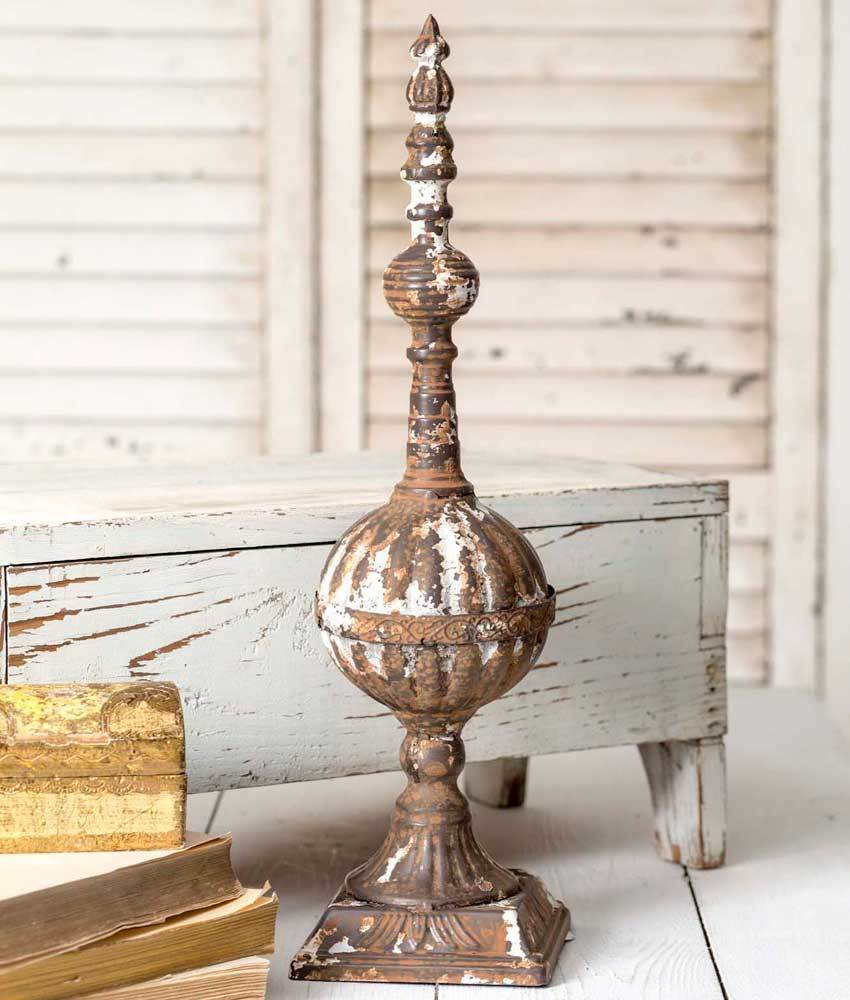 19 Tabletop Finial Products Pinterest Decor Farmhouse And