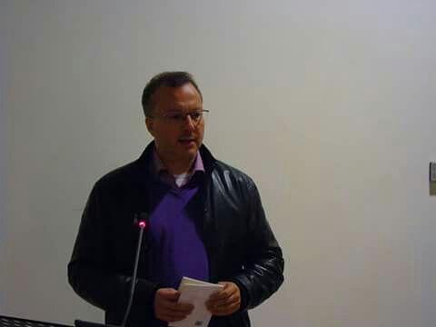 """Presentazione di """"Provvisorie conclusioni"""" di Emilio di Stefano (Samuele Editore 2015) a Sacile - con un intervento musicale di Franco Fasano"""
