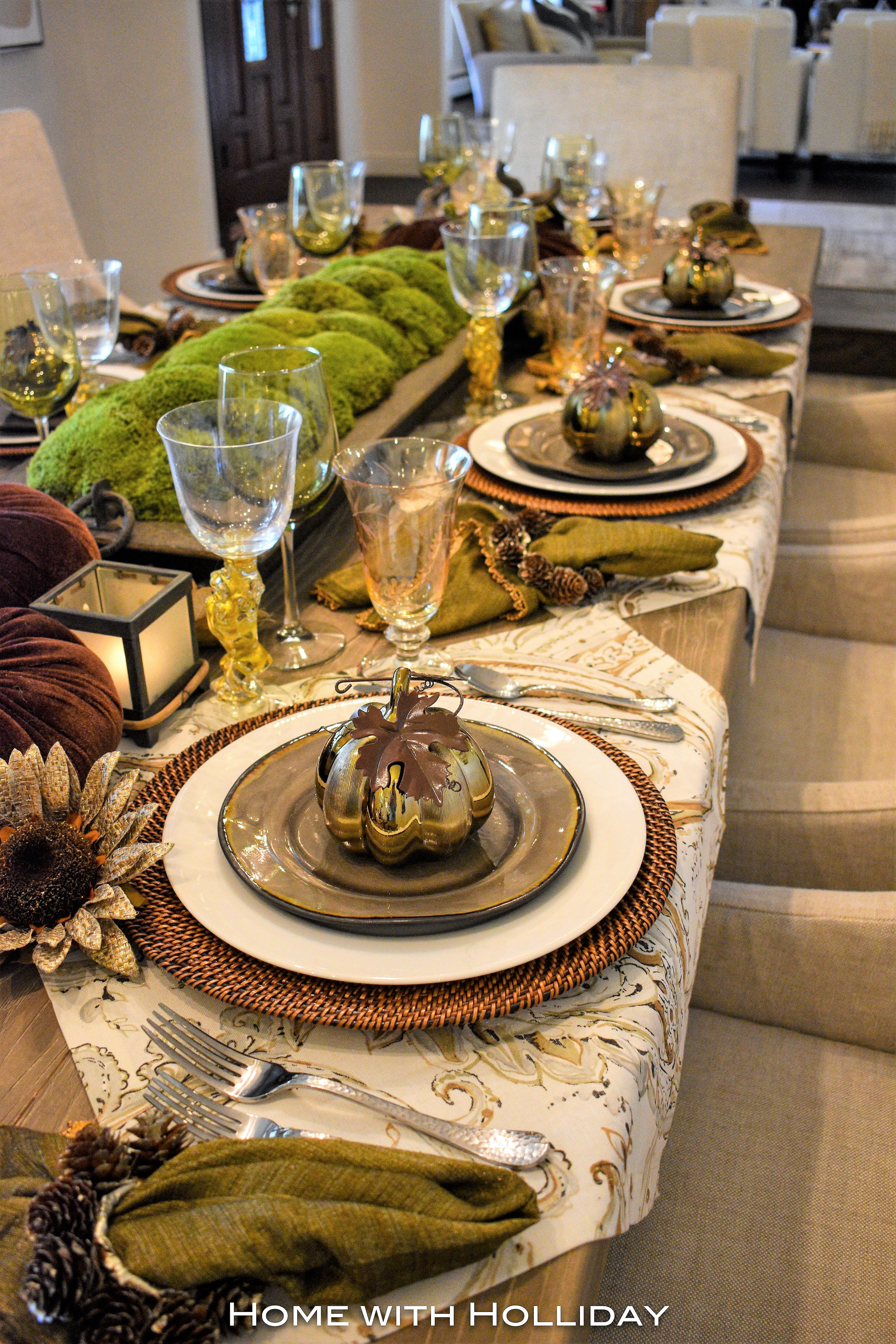 Simple Ideas for Fall Table Settings | Fall and ...