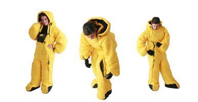 brandi would totally sleep in this sleeping bag suit.
