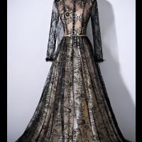 اجمل فساتين سهرة اسود جديدة 2019 تسوقي الآن فاشن ازياء فساتين سهرة اسود للبيع Black Evening Dresses Long Sleeve Evening Dresses Evening Dresses With Sleeves