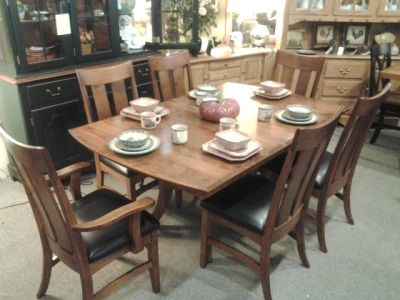 amish built galveston table and chairs with two self storing 12   leaves   expands amish built galveston table and chairs with two self storing 12      rh   pinterest com