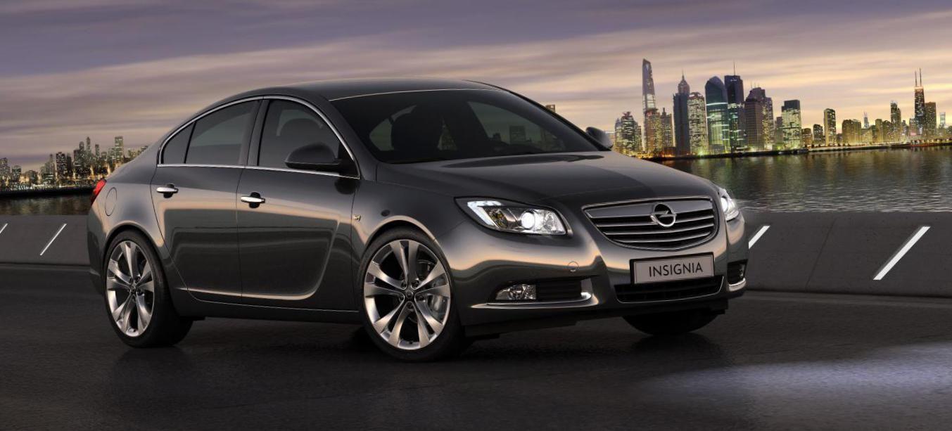 Opel Insignia Notchback Characteristics - http://autotras.com