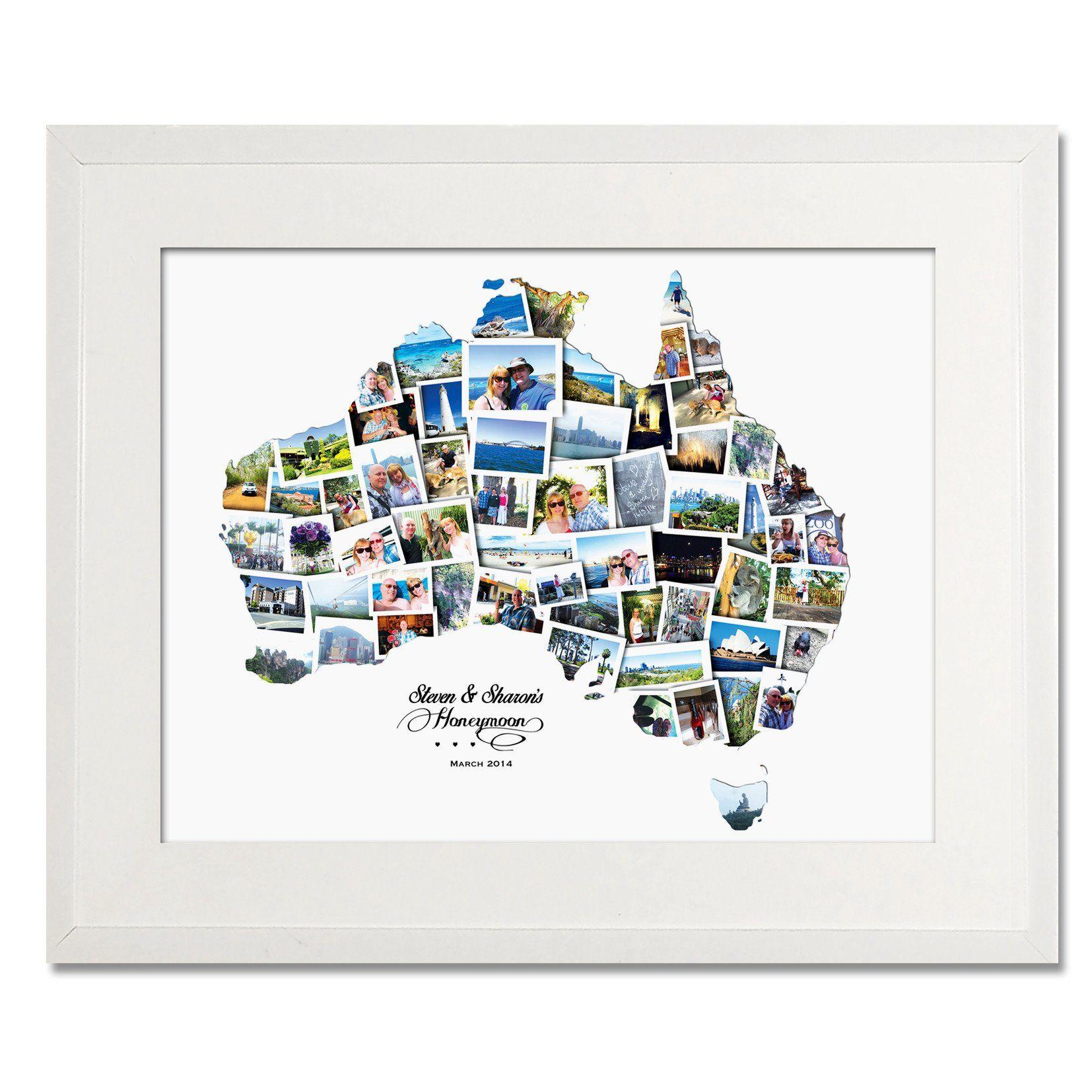 Australia Wedding, Honeymoon & Anniversary Collage