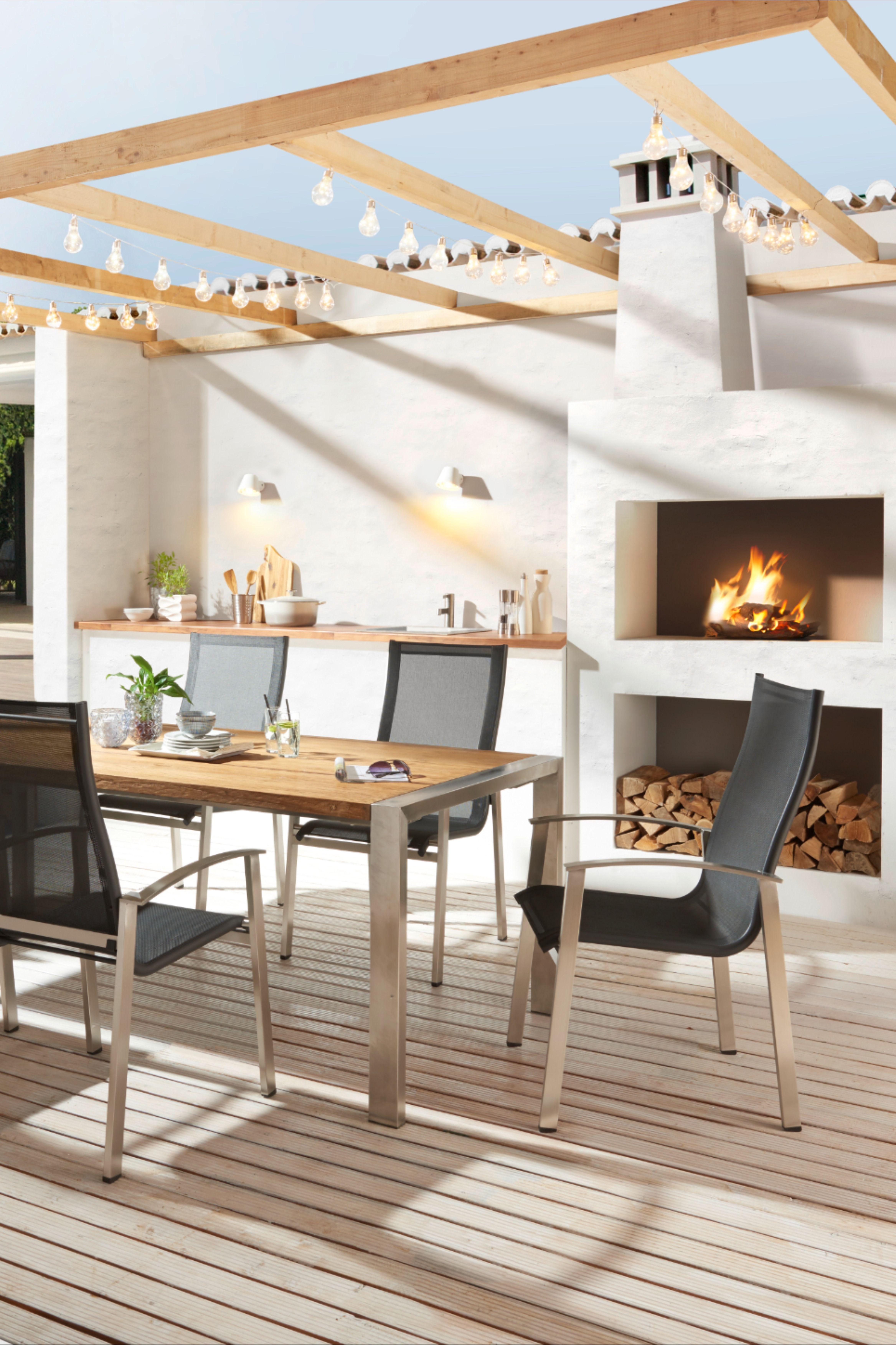 Gartentisch Holz Metall Edelstahlfarben Teakfarben Jetzt Nur Online Xxxlutz In 2021 Gartentisch Holz Gartentisch Holz Metall Teak