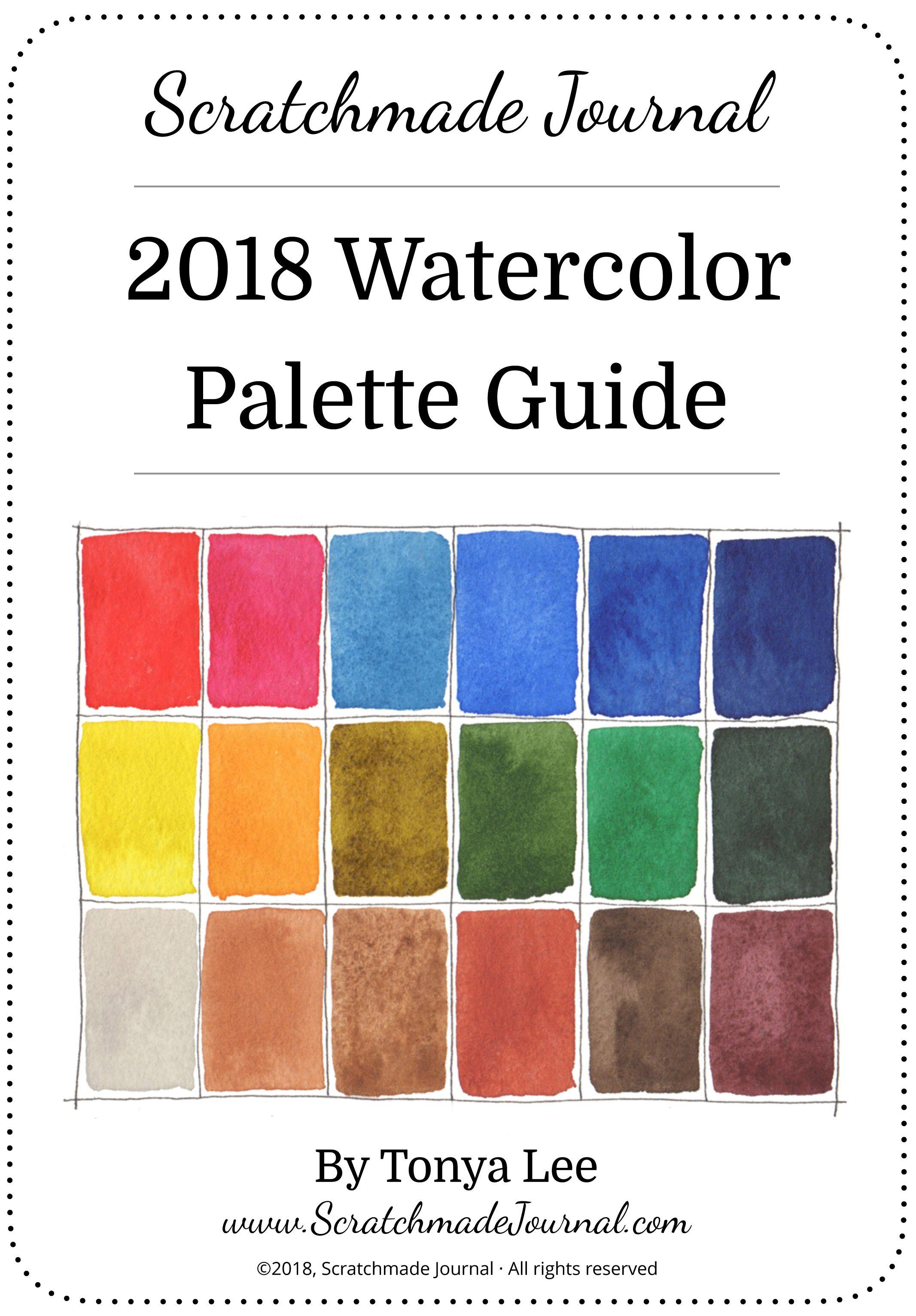 2018 Watercolor Palette Guide Watercolour Tutorials Watercolor