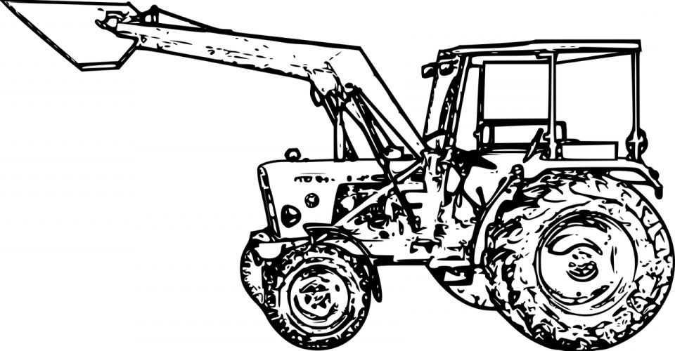 Coloriages Tracteur A Imprimer Tracteura With Images Kelvin