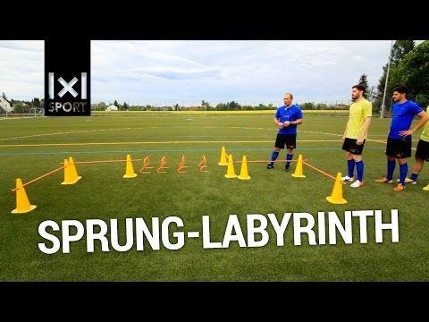 Fussballtraining Der Doppelweg Mit Gegner Seitlich