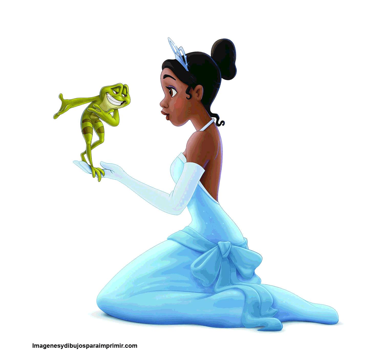 tiana con el principe Naveen sapo para imprimir   cumple   Pinterest ...