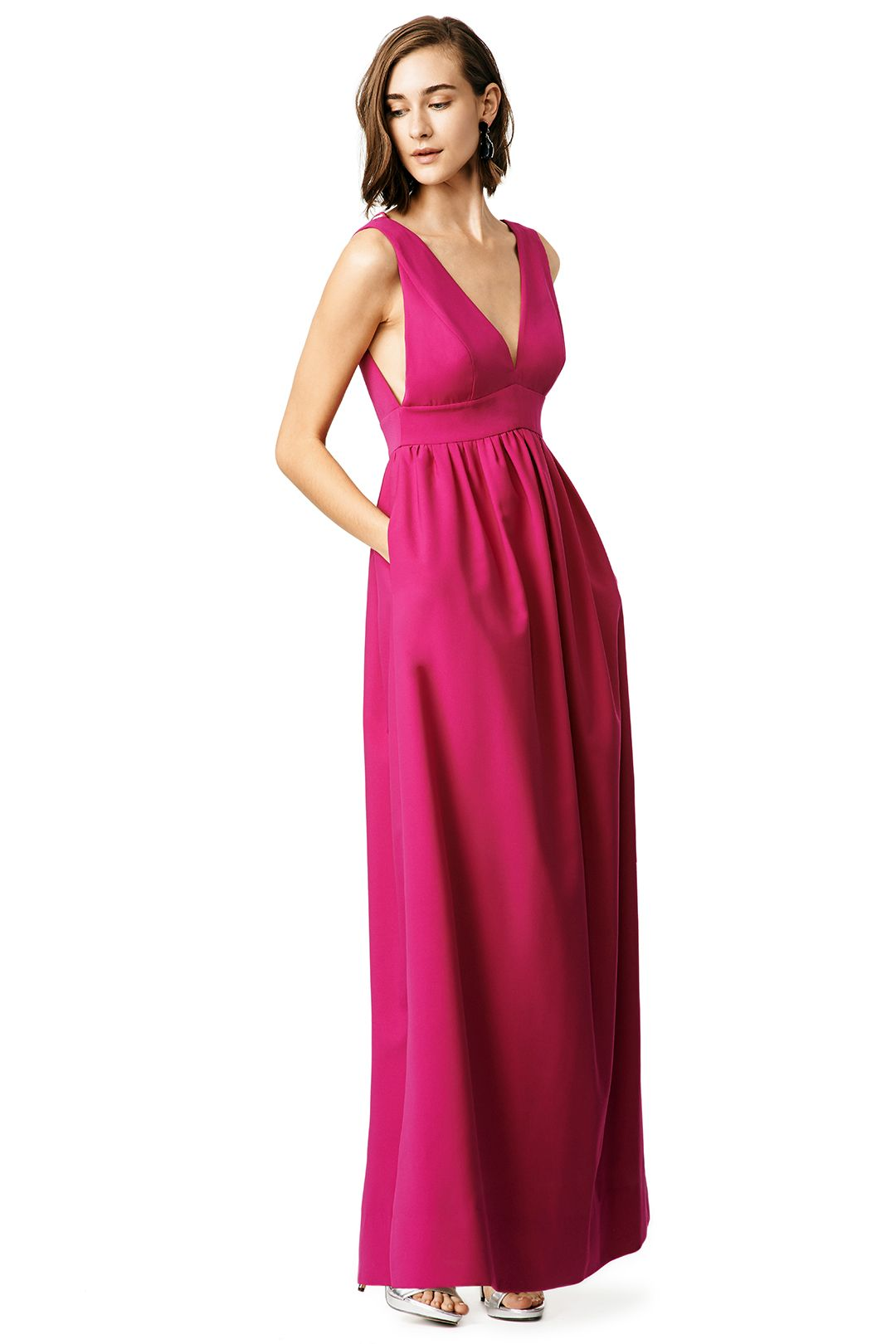 Raspberry gownu with pockets shopping pinterest gowns black