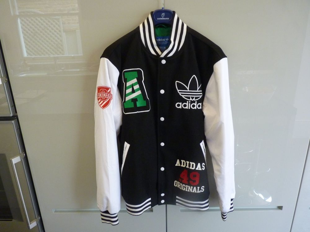 Men\'s Nike Adidas Originals Baseball Jacket / Bomber Jacket | Size M ...