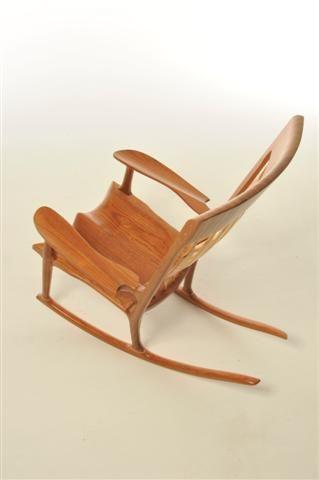 Prime Maloof Inspired Sculpted Rocker House Furniture Inside Machost Co Dining Chair Design Ideas Machostcouk