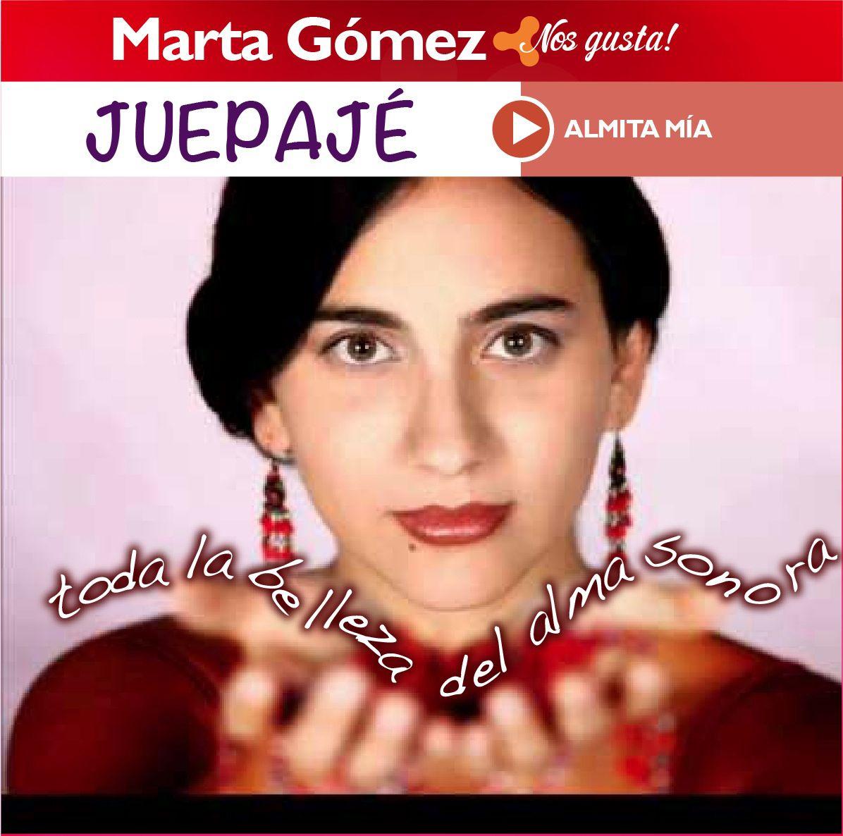 Juepajé, y pongámosle romanticismo a este día. En Casaingenia nos gusta Marta Gómez con Almita mía. Contagiate de la buena música colombiana.