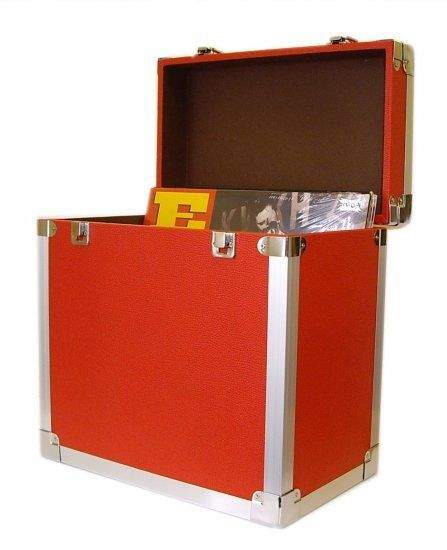 Lp 12 Vinyl Record Storage Case Red Vinyl Record Storage Box Record Storage Box Vinyl Record Storage