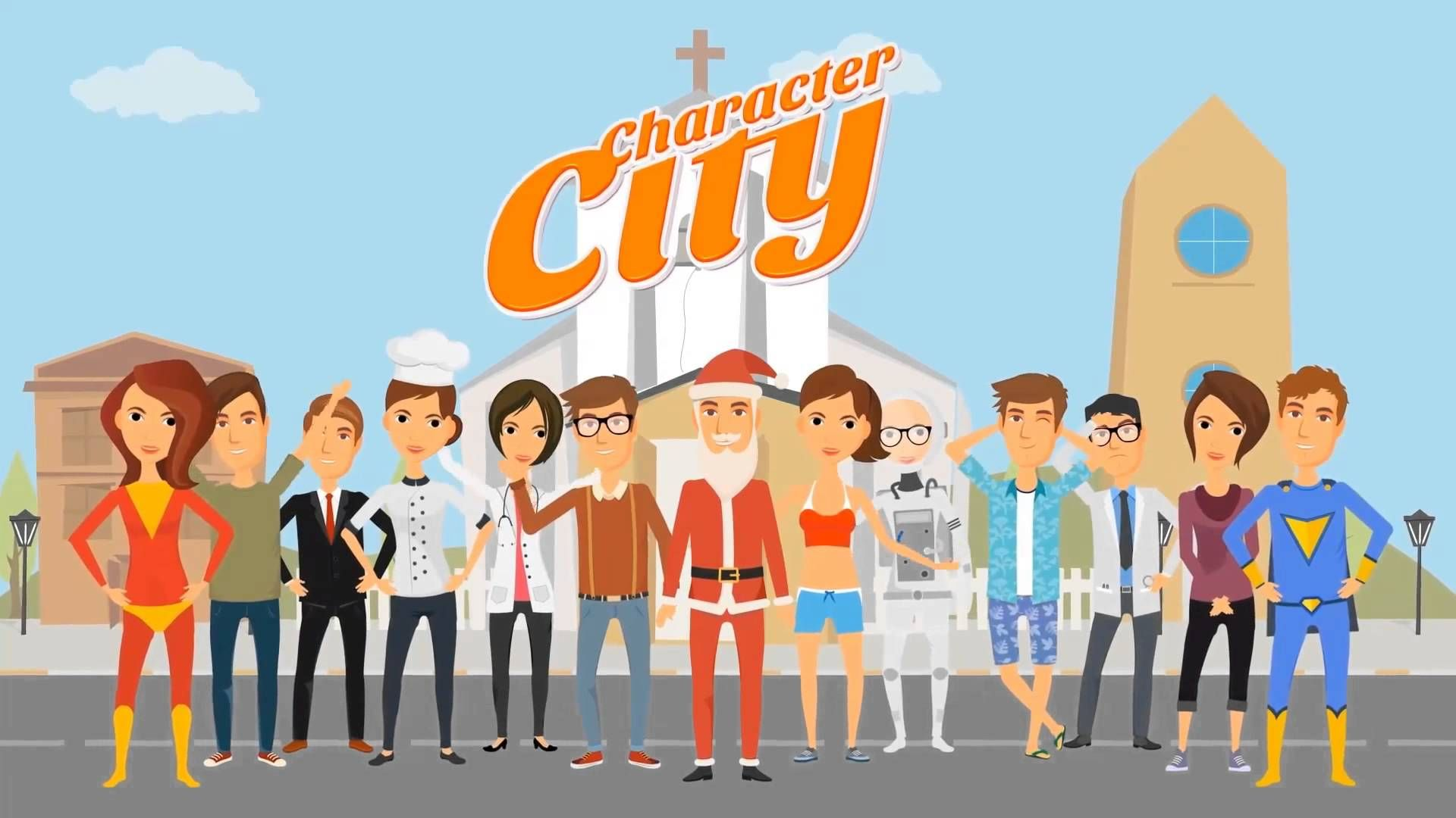 Character City V Explainer Video ToolKit After Effect Templates - Explainer video templates