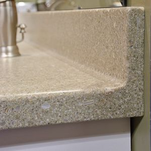 Backsplash Cove Router Bits Create Nice Curved Edge On Your Counter Backsplash Shown Here In