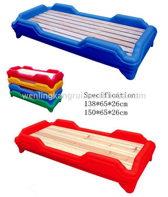de plástico de la cama de jardín deinfantes mobiliario para niños