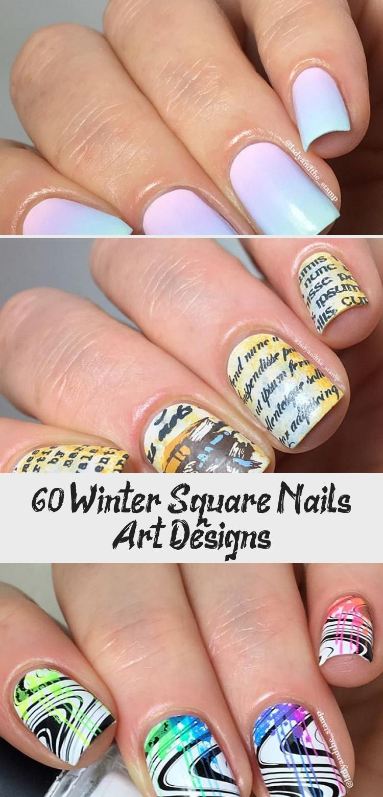 Photo of 60+ Winter Square Nails Art Designs – Best Tattoos