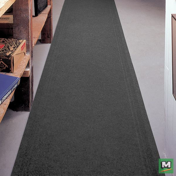 Protect The Floors In Your Hallways Or Work Area With A 26 Wide Multy Home Tracker Utility Runner Made With Ribbed Polypropylene T Flooring Home Floor Rugs