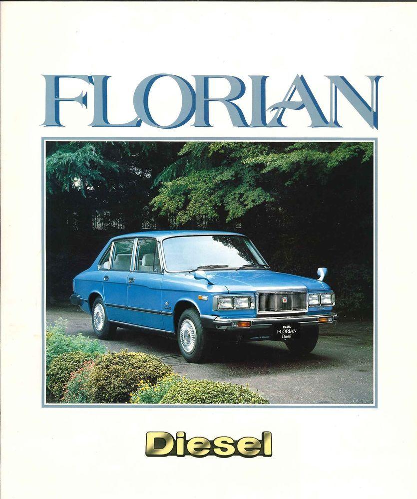 ISUZU FLORIAN Diesel, Japanese Brochure Sales Classic Car