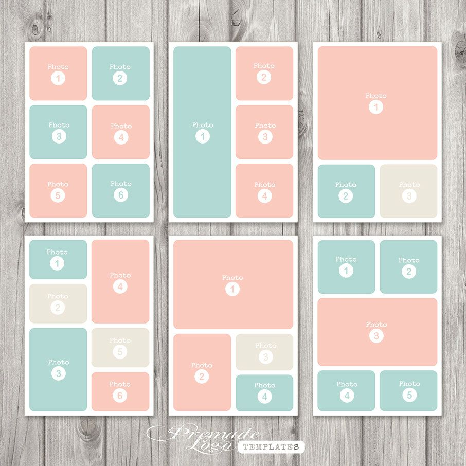 Photo Template Storyboard Template Photo Collage Template