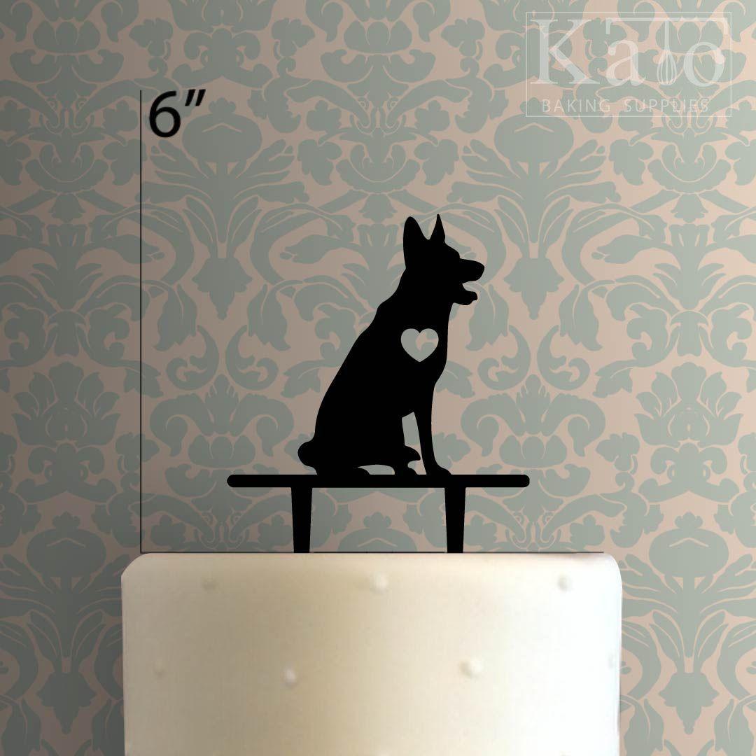 Dog - German Shepard 225-514 Cake Topper #germanshepards