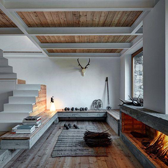 EV+A Lab Atelier d\'architettura : CASA Vi | Timber flooring ...