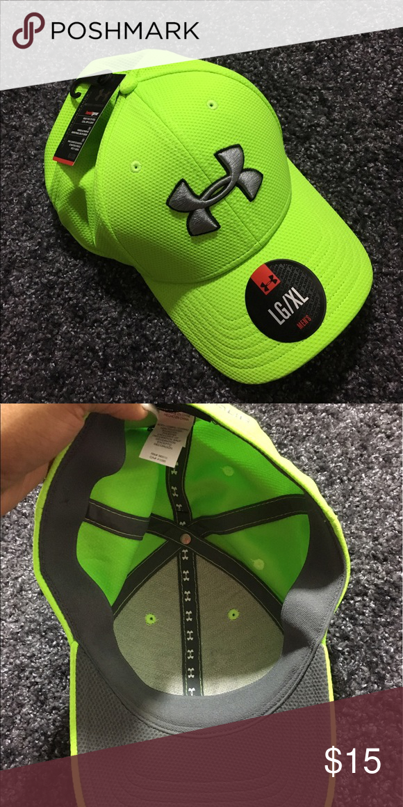 best website 253ce 7387c Lime Green Under Armour Hat brand new. Under Armour Accessories Hats