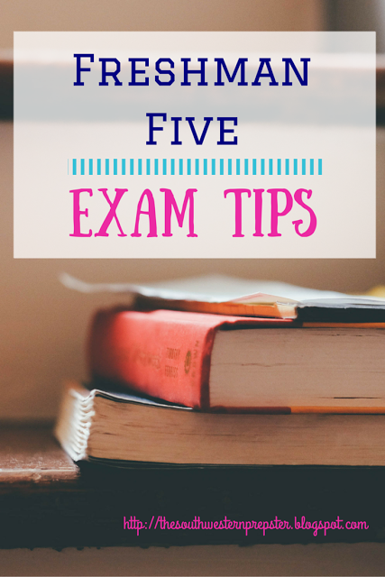 Identify three general tips for studying for a test.?