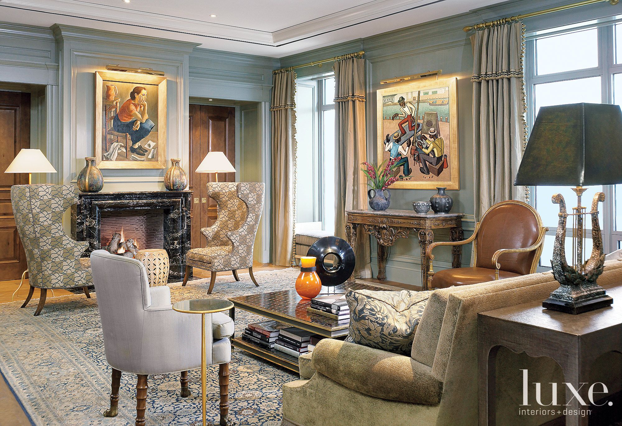 Interior Designer Jessica Lagrange And Architect Lucien Lagrange Had The Job Of Making This Home