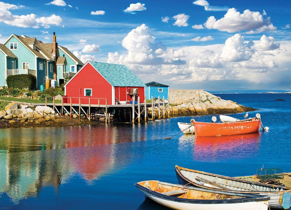 Eurographics Puzzles Peggy Scove Nova Scotia 1000 Pieces
