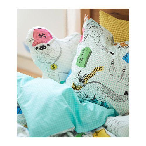Flick ga funda n rd y funda para almohada ikea almohadones y textiles pinterest almohada - Almohadas en ikea ...