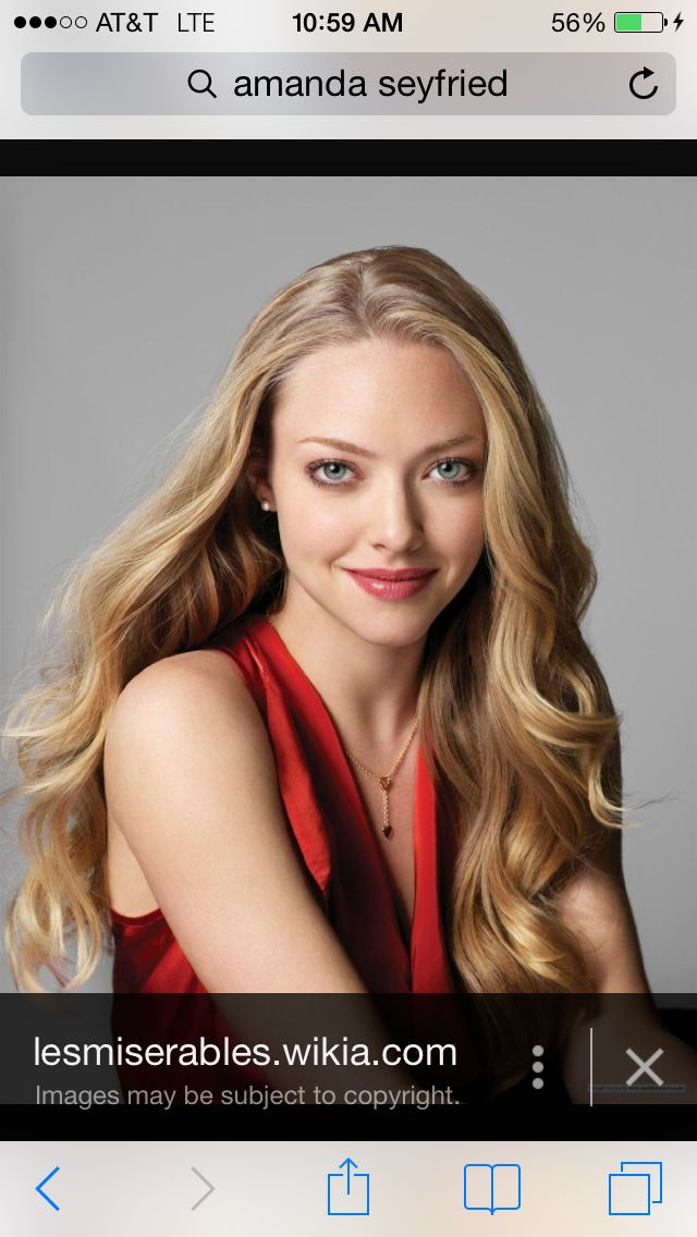 Natural Level 8 Blonde Base Amanda Seyfried Hair Amanda