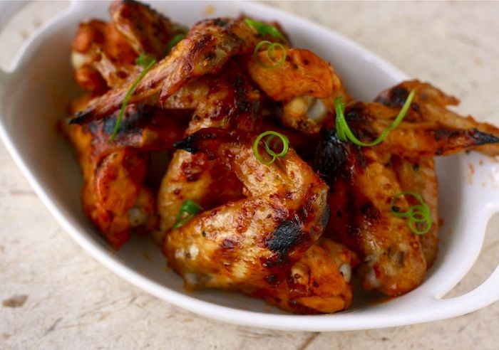 Save the color 'orange' for fake sun tans and fake cooked chicken wings. These are the real deal with Claude's Fajita Marinade https://www.claudessauces.com/collections/claude-s-sauces/products/fajita-marinade