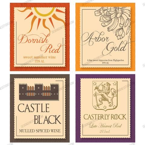 game of thrones wine names